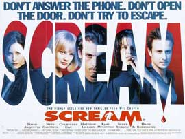 Scream - 11 x 17 Movie Poster - UK Style A