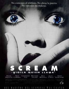 Scream - 43 x 62 Movie Poster - Spanish Style A