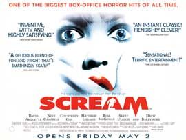 Scream - 30 x 40 Movie Poster - Style A