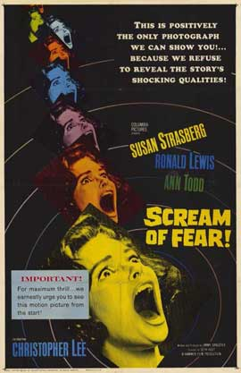 Scream of Fear - 11 x 17 Movie Poster - Style A