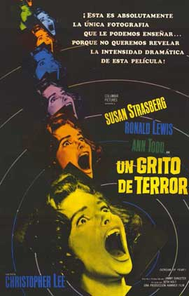 Scream of Fear - 11 x 17 Movie Poster - Spanish Style A