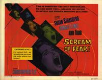 Scream of Fear - 22 x 28 Movie Poster - Half Sheet Style A