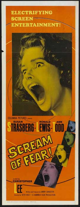 Scream of Fear - 14 x 36 Movie Poster - Insert Style A