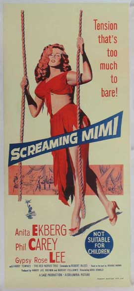 Screaming Mimi - 14 x 36 Movie Poster - Insert Style A