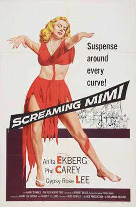 Screaming Mimi - 11 x 17 Movie Poster - Style A