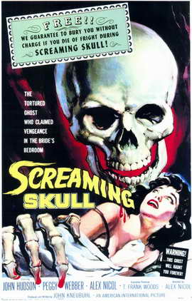 The Screaming Skull - 11 x 17 Movie Poster - Style A