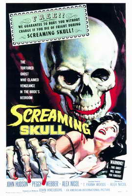 The Screaming Skull - 27 x 40 Movie Poster - Style A
