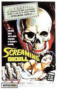 The Screaming Skull - 43 x 62 Movie Poster - Bus Shelter Style A