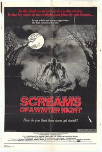 Screams of a Winter Night - 43 x 62 Movie Poster - Bus Shelter Style A