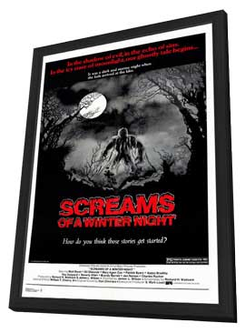 Screams of a Winter Night - 11 x 17 Movie Poster - Style A - in Deluxe Wood Frame