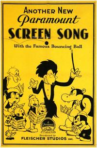 Screen Song - 43 x 62 Movie Poster - Bus Shelter Style A