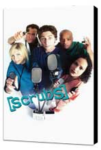 Scrubs (TV) - 11 x 17 TV Poster - Style B - Museum Wrapped Canvas