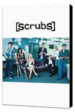 Scrubs (TV) - 11 x 17 TV Poster - Style C - Museum Wrapped Canvas