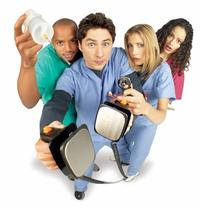 Scrubs (TV) - 8 x 10 Color Photo #049