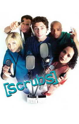 Scrubs (TV) - 11 x 17 TV Poster - Style B