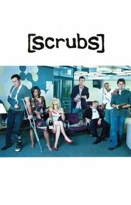 Scrubs (TV) - 11 x 17 TV Poster - Style C