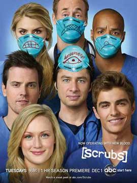 Scrubs (TV) - 11 x 17 TV Poster - Style D