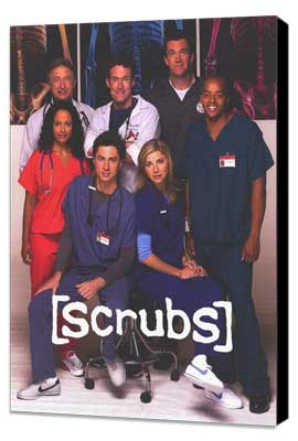 Scrubs (TV) - 11 x 17 TV Poster - Style A - Museum Wrapped Canvas