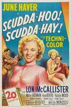 Scudda Hoo! Scudda Hay! - 11 x 17 Movie Poster - Style B