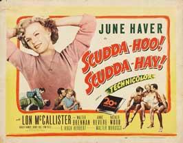 Scudda Hoo! Scudda Hay! - 11 x 14 Movie Poster - Style A