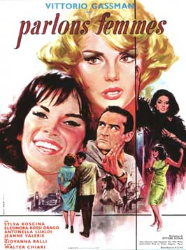 Se permettete parliamo di donne - 11 x 17 Movie Poster - French Style A