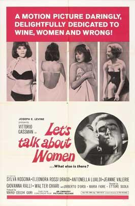 Se permettete parliamo di donne - 27 x 40 Movie Poster - Style A