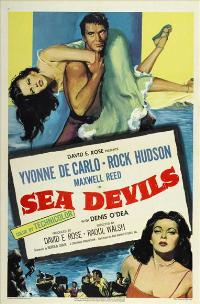 Sea Devils - 11 x 17 Movie Poster - Style A