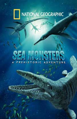 Sea Monsters: A Prehistoric Adventure - 11 x 17 Movie Poster - Style A
