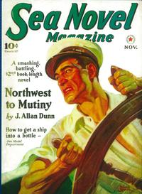 Sea Novel Magazine (Pulp) - 11 x 17 Pulp Poster - Style A