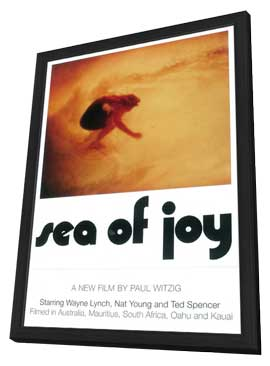 Sea of Joy - 27 x 40 Movie Poster - Style A - in Deluxe Wood Frame