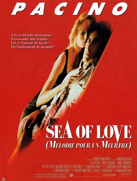 Sea of Love - 11 x 17 Movie Poster - French Style A