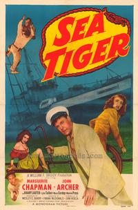 Sea Tiger - 43 x 62 Movie Poster - Bus Shelter Style A