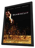 Seabiscuit - 27 x 40 Movie Poster - Style A - in Deluxe Wood Frame