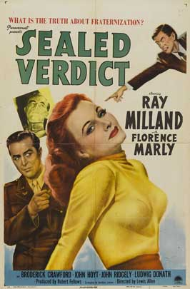 Sealed Verdict - 11 x 17 Movie Poster - Style A