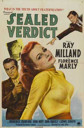 Sealed Verdict - 27 x 40 Movie Poster - Style A