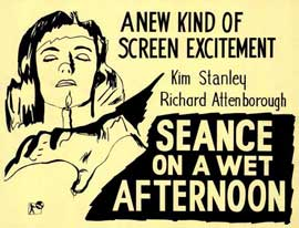 Seance on a Wet Afternoon - 11 x 14 Movie Poster - Style A