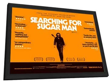 Searching for Sugar Man - 27 x 40 Movie Poster - Style A - in Deluxe Wood Frame