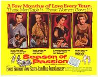 Season of Passion - 11 x 14 Movie Poster - Style A