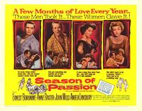 Season of Passion - 22 x 28 Movie Poster - Half Sheet Style A