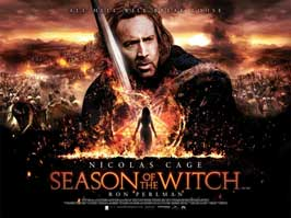 Season of the Witch - 11 x 17 Movie Poster - UK Style A