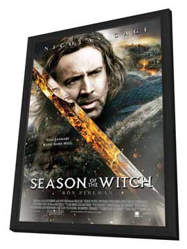 Season of the Witch - 11 x 17 Movie Poster - Style B - in Deluxe Wood Frame