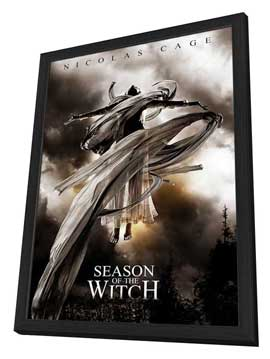 Season of the Witch - 27 x 40 Movie Poster - Style C - in Deluxe Wood Frame