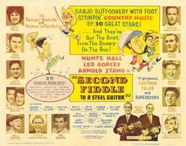 Second Fiddle to a Steel Guitar - 11 x 14 Movie Poster - Style A