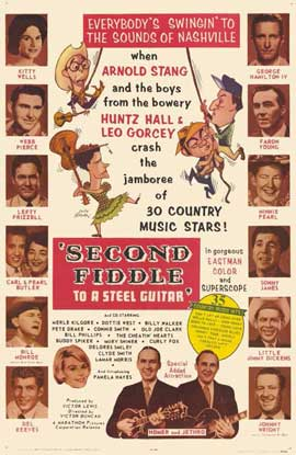 Second Fiddle to a Steel Guitar - 11 x 17 Movie Poster - Style A