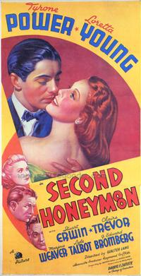 Second Honeymoon - 27 x 40 Movie Poster - Style A