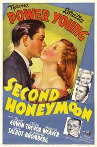 Second Honeymoon - 27 x 40 Movie Poster - Style B