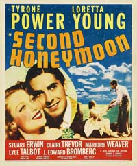 Second Honeymoon - 27 x 40 Movie Poster - Style C