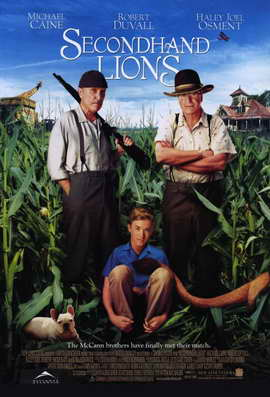 Secondhand Lions - 11 x 17 Movie Poster - Style A