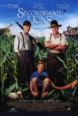Secondhand Lions - 27 x 40 Movie Poster - Style A