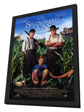 Secondhand Lions - 11 x 17 Movie Poster - Style A - in Deluxe Wood Frame